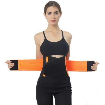 Фитнес пояс (корсет) на липучке для тренировок