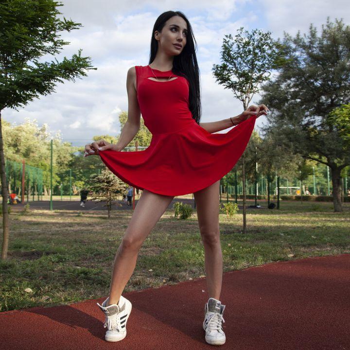 Фитнес платье